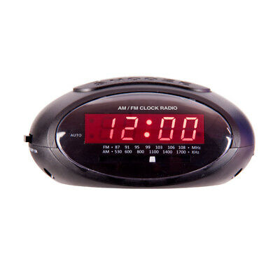 AU29.99 • Buy Laser Dual Alarm Clock Radio Am Fm With Power Back-up/big Snooz/digital Display/