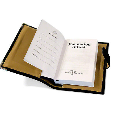 £11.99 • Buy Masonic Soft Faux Leather Ritual Book Cover