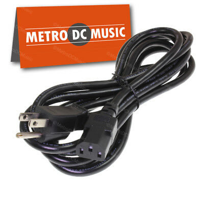 $ CDN14.63 • Buy 10ft AC Power Cord Guitar Amplifier Outdoor Rated SJTW Marshall Fender Amp 3 Pin