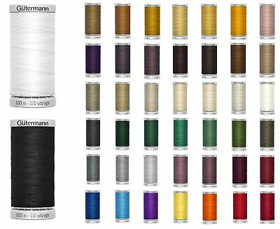 Gutermann Extra Strong Thread 100m Reel - Sewing & Upholstery - All 45 Colours • 4.25£