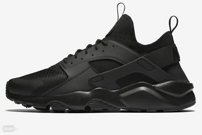 online store 1dadc cd163 Nike Sneakers Uomo Ragazzo Air Huarache Run Ultra 819685 002 Full Black  Nero • 115€