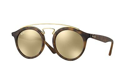 66a776e845 Ray-Ban New Gatsby I RB4256 Sunglasses-Havana Brown Mirror Lens (60925A