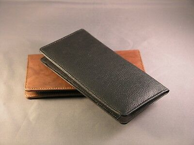 $13.99 • Buy Quality Leather Checkbook Cover Wallet -  Various