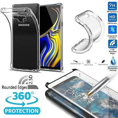 AU16.99 • Buy 360°Full Body Protective Case Cover W/Screen Protector For Samsung Galaxy Note/S