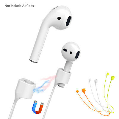 $ CDN2.58 • Buy Magnetic For Apple AirPods Strap Anti-lost Loop String Rope Connector Jc
