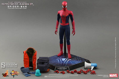 $400 • Buy Hot Toys MMS 244 The Amazing Spider Man 2 1/6 Scale Figure  MINT CONDITION!