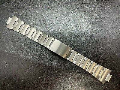$ CDN93.83 • Buy Seiko Stainless Steel Men's Bracelet With 10 Mm End Links  6139 6138 6105 Rally