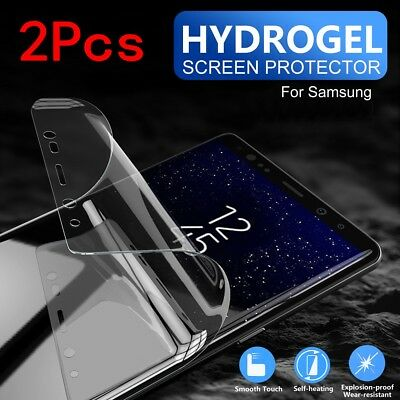 $ CDN3.89 • Buy 2Pcs Hydrogel TPU Screen Protector Film For Samsung Galaxy S10 S9 S8 + Note 9/8