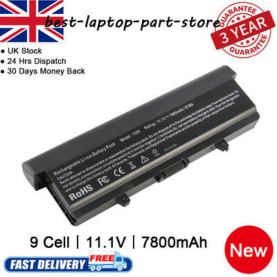 9CELL Battery For Dell Inspiron 1525 1526 1440 1545 1546 1750 GW240 X284G NEW UK • 15.99£