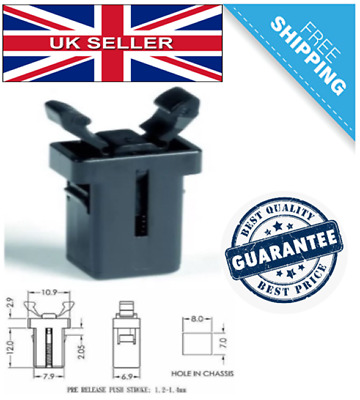 Addis/Brabantia Replacement Push Bin Lid Catch/latch With Optional Mating Part • 7.20£