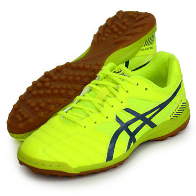 03c45108e Asics JAPAN CALCETTO WD 7 TF Indoor Soccer Football Futsal Shoes TST335  Yellow • 85.49