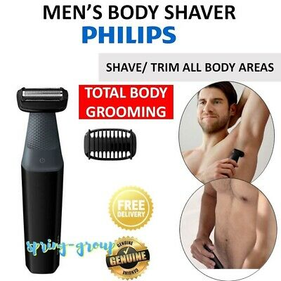 AU89 • Buy Cordless Body Shaver Mens  Chest Back Legs Hair Trimmer Clipper Grooming Kit