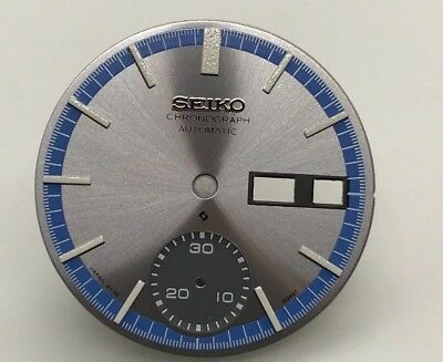 $ CDN44.23 • Buy Replacement Dial For Seiko 6139 - 8020 Chronograph Automatic