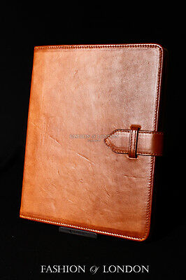 $45.91 • Buy IPad 2 3 & 4 (Tan Washed Lambskin) Genuine Real Leather Cover Case Stand Folio