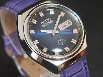 $ CDN373.09 • Buy Seiko 5 Actus 6106-8680 Blue Dial Used Automatic Authentic Men's Watch Working