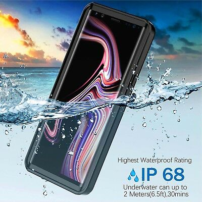 AU28.49 • Buy Dust/Shock/Water Proof Tough Crystal Case For Galaxy Note 9 8 S10 S9 S8 Plus