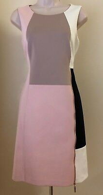 $ CDN56.34 • Buy Ivanka Trump Color Block Shift Dress ID8N1GZJ NWT Size 6, 10
