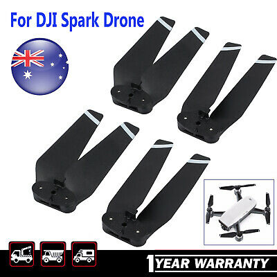 AU18.95 • Buy 4x For DJI Spark Drone Quick Release Propeller Platinum Noise Reduction Blades
