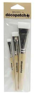 Decopatch Nylon Brushes Pack Of 3 • 7.95£