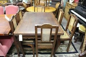 AU395 • Buy A Set Of Six French Provincial Oak Dining Chairs