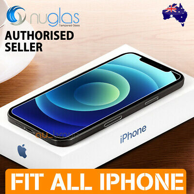 AU6.95 • Buy 2x For Apple IPhone 12 Mini 11 Pro XS Max XR Tempered Glass Screen Protector