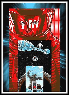 £26.99 • Buy 2001 A Space Odyssey    Poster Greatest Movies Classic & Vintage Films