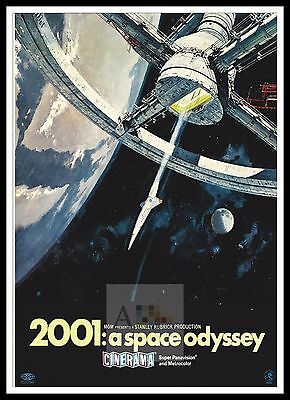 £26.99 • Buy 2001 A Space Odyssey 7   Poster Greatest Movies Classic & Vintage Films