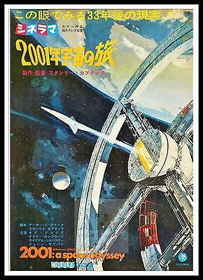 £26.99 • Buy 2001 A Space Odyssey 3   Poster Greatest Movies Classic & Vintage Films