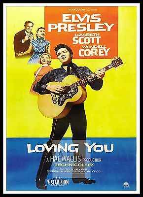 Loving You  Elvis Presley Movie Posters Musicals Classic Films • 23.99£