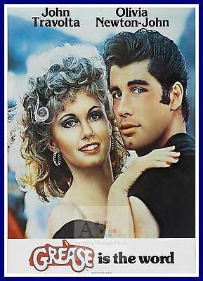 £22.90 • Buy Grease   1970's Movie Posters Classic Cinema