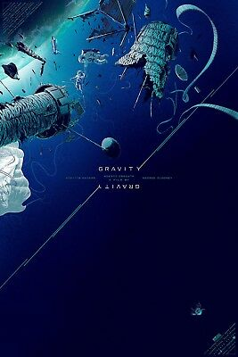 £431.13 • Buy Gravity By Kevin Tong - Rare Sold Out Mondo