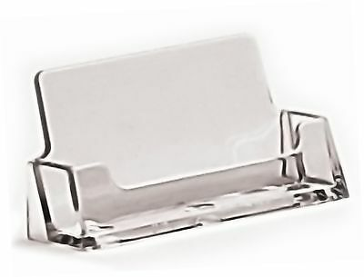 £5.32 • Buy Business Card Holder, Acrylic, Retail Counter Display Stand.