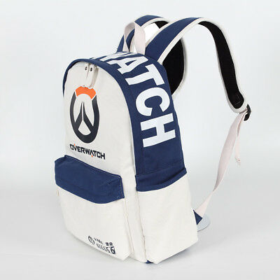 AU59.95 • Buy Overwatch School Backpack Hand Travel Bag HD Canvas PC FPS Gaming PS4 Xbox AUS