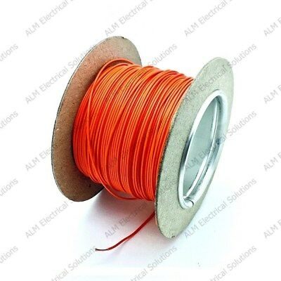 Thin Wall 1mm² 16.5 Amp Single Core Cable For Automotive & Marine Use • 9.25£