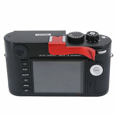 £33.48 • Buy Thumbs Up Grip Add-on Rest For Leica M M-P Typ240 Camera Better Balance Grip Red