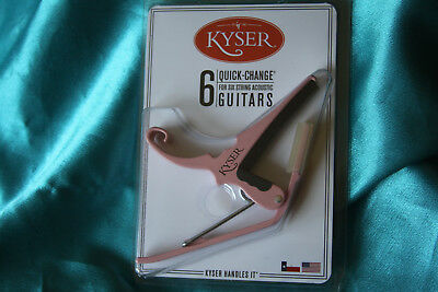 $ CDN26.60 • Buy Kyser Pink 6 String Guitar Capo, KG6KA