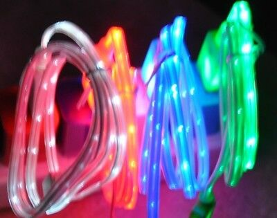 $ CDN9.76 • Buy LED Light-up Micro USB Charger Data Sync Cable For Samsung Galaxy S8+ S9 Note 9