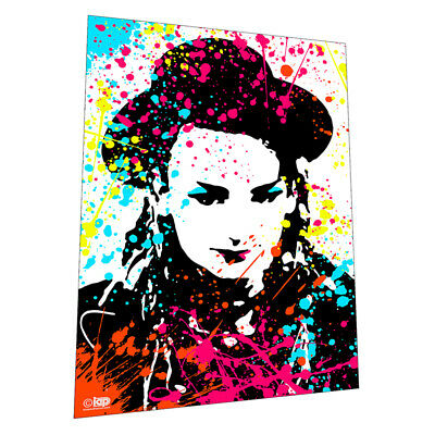 £14.50 • Buy 1980s Glam Legend  Boy George  Wall Art - Graphic Art Poster