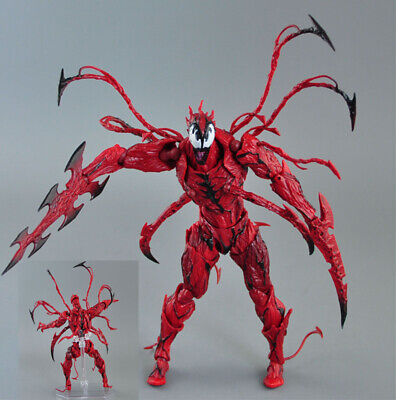 Revoltech Series AMAZING Spider Man Carnage Figure Toy Gift No Box New #.008 • 16.50£