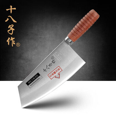$ CDN59.64 • Buy Cleaver Knife Chinese Style Blade Kitchen Chef Knives Rose Wood Handle Full Tang
