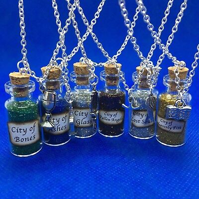 £4.47 • Buy Mortal Instruments [Shadowhunters] Magic Potions Bottle Charms Necklace - NEW