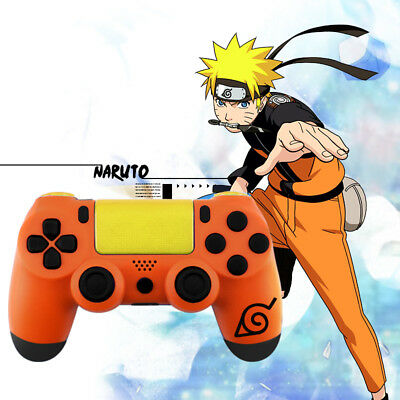 AU20.80 • Buy Naruto PS4 Slim Pro Controller Shell Case Full Custom Replacement Button Mod Kit