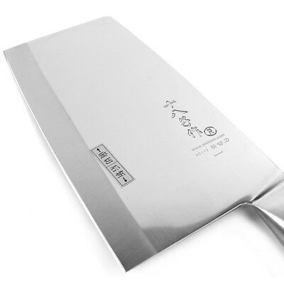 $ CDN53.01 • Buy Professional Chinese Slicing Knife Cleaver One Piece Blade Steel Handle Chef Cut