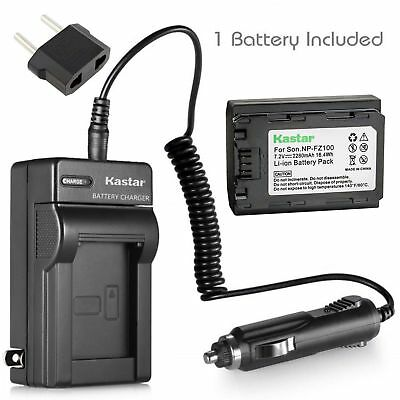 $ CDN34.17 • Buy NP-FZ100 Battery & Charger For Sony C-QZ1 Sony Alpha A9, 9R, A 9, A7 III, 7 III