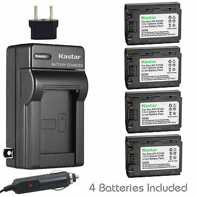 $ CDN107.90 • Buy NP-FZ100 Battery & Charger For Sony C-QZ1 Sony Alpha 9, A9, 9R, A7 III, 7 III