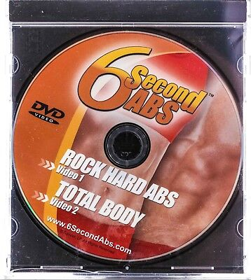 AU7.61 • Buy 6 Second ABS Workout DVD  Rock Hard Abs  &  Total Body  Health Sporting Goods