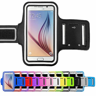 AU5.39 • Buy Sports Gym Armband Case Running Exercise For Samsung J5 A21s A20 A30 A51 A71 A11