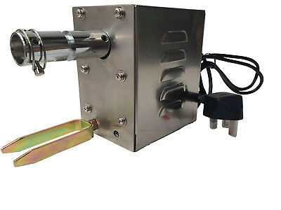 £99.99 • Buy Bbq Rotisserie Hog Roast Spit Motor Electric Turns To 25kg - Stainless Steel 25w
