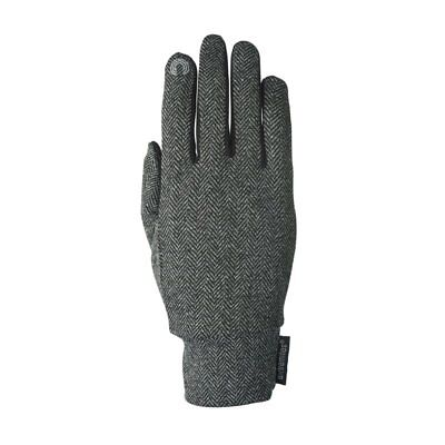 Extremities Herringbone Touch Liner Gloves - Grey • 18.99£