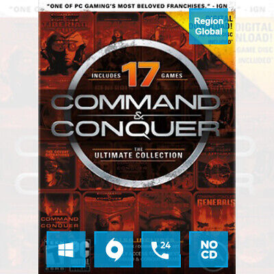 AU10.59 • Buy Command & And Conquer The Ultimate Collection For PC Game Origin Key Region Free